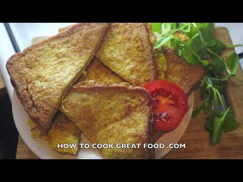 Fried Egg Bread Recipe French Toast Eggy Bread Gypsy Toast
