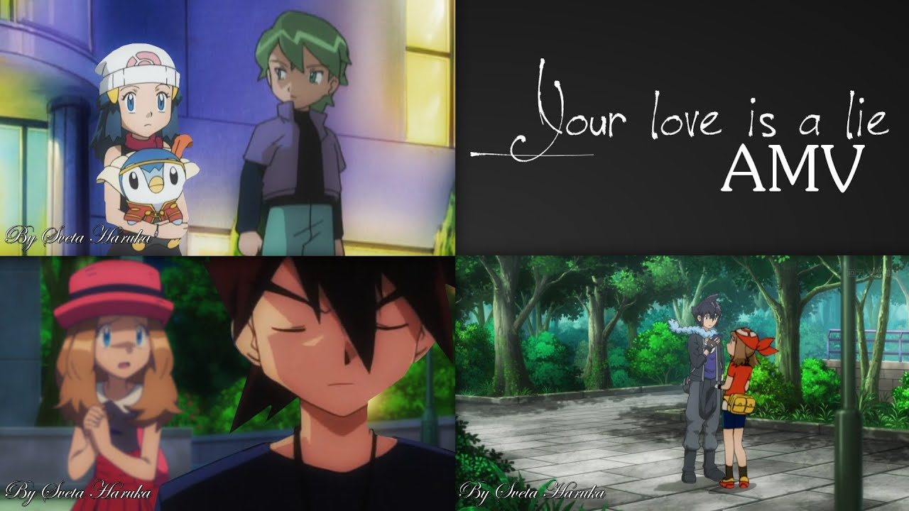 「Your love is a lie」Belleshipping | Rivalcrushshipping | Firebladeshipping【AMV】
