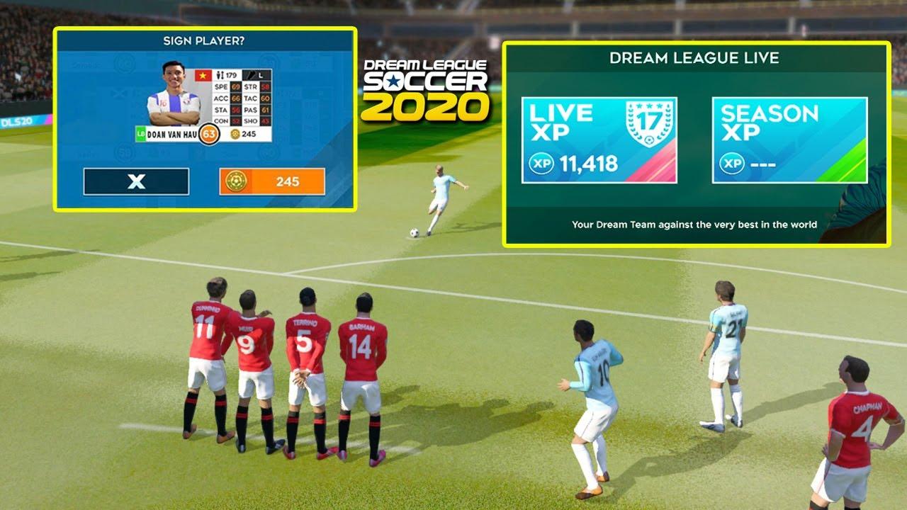 Những thay đổi của phiên bản cập nhật mới nhất Dream League Soccer 2020