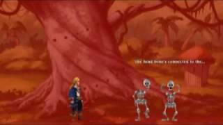 Repeat youtube video Monkey Island 2 (SE) - The Bones Song