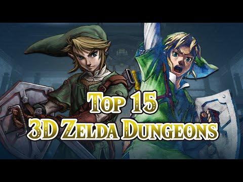 Top Fifteen 3D Zelda Dungeons