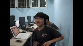 """Học viên khóa học """"Lập trình ứng dụng di động Apple iOS"""" tại TechMaster"""