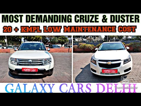 CHEVROLET CRUZE & RENAULT DUSTER AT LOWEST PRICE GALAXY CARS DELHI