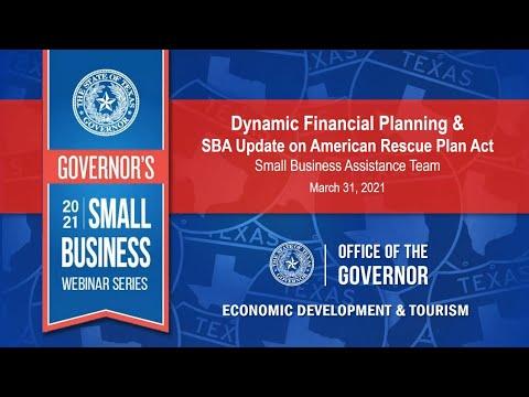 Governor's 2021 Small Business Webinar Series Thumbnail