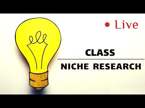 Affiliate Marketing Bangla Tutorial 2018- Niche Research Live Class thumbnail