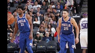 Best Ben Simmons Assists to Joel Embiid | Establish A Connection Early In Philly!