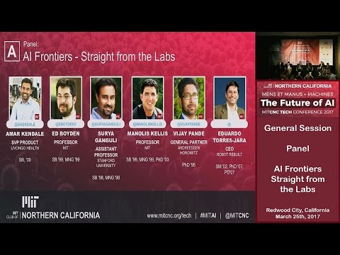 AI Frontiers - MITCNC Tech Conference 2017 on The Future of AI