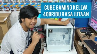 Cube Gaming Kellva White Unboxing Review Youtube