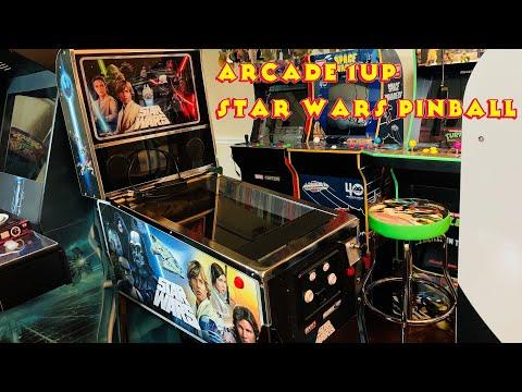 Star Wars Pinball - Arcade1UP Cabinet from MRN Bricks
