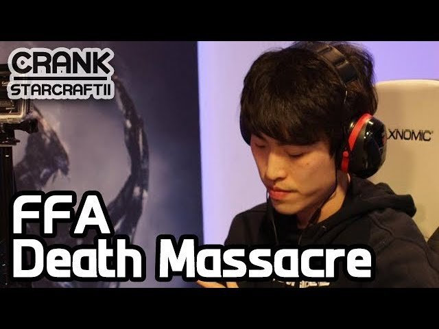 FFA Death Massacre - StarCraft 2