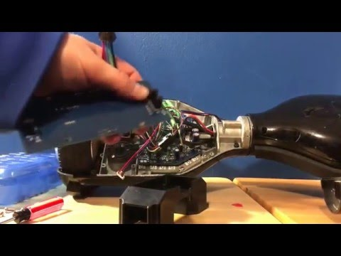 How to fix LED light staying on/how to replace Gyroscope sensor