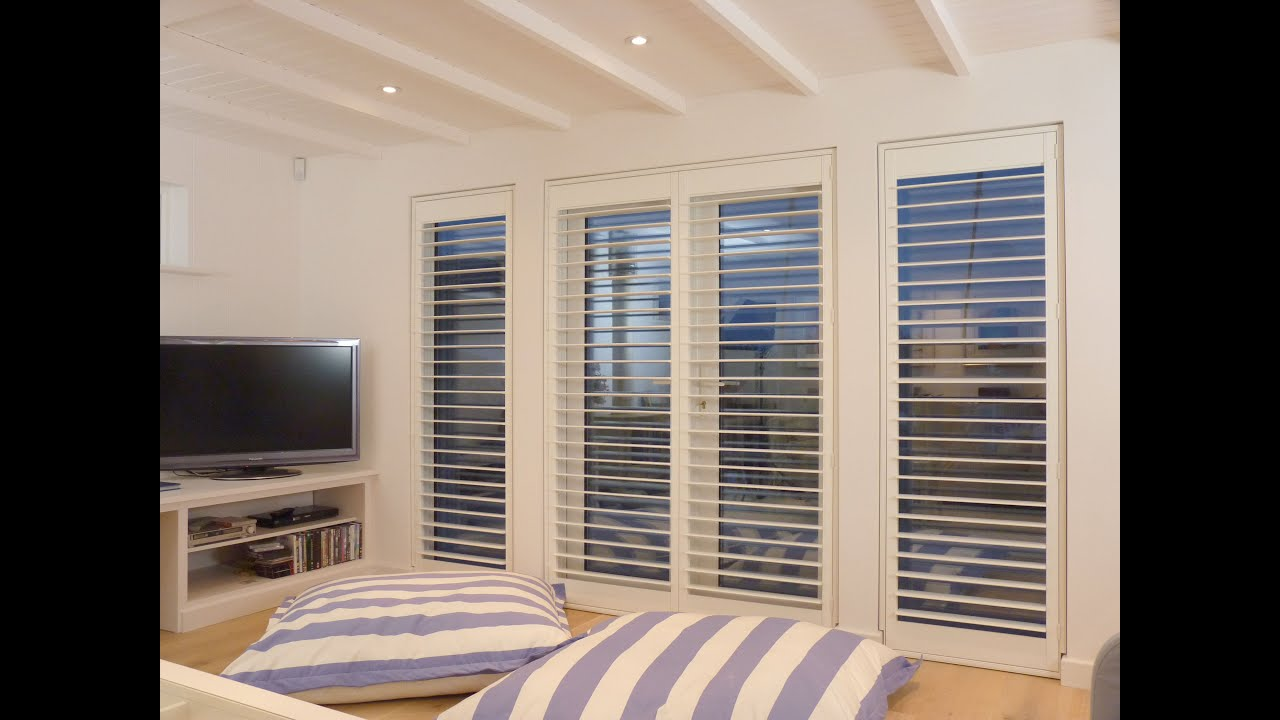 Plantation shutters guide - Top 5 window shutter designs - YouTube