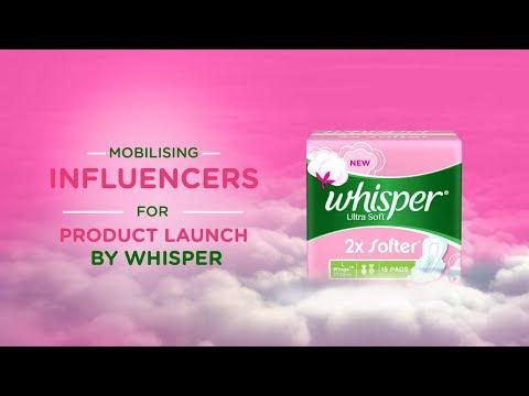 Influencer Marketing Case Study: Whisper
