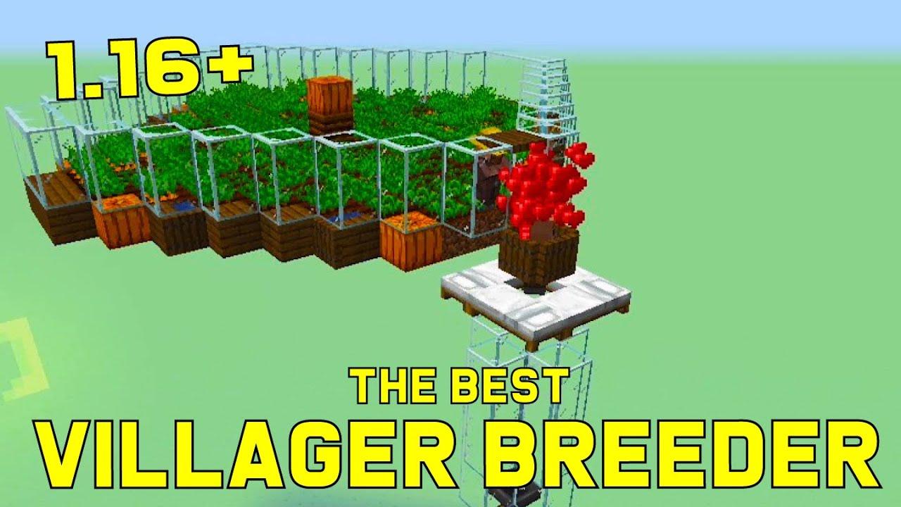 Simple Villager Breeder Tutorial 8.86  Easy, Efficient Minecraft Farm
