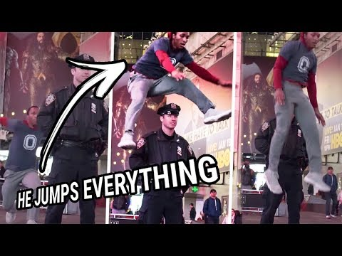 He Jumped Over A NYC Cop & Wayyy More! You Need To See Dexton's Bounce To Believe It!