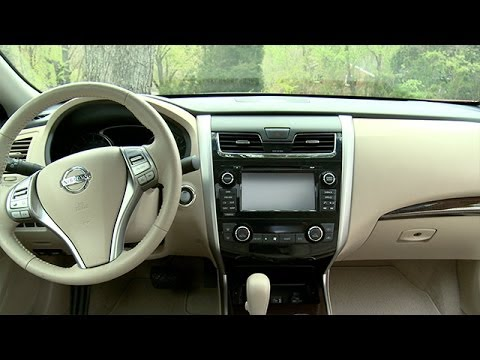 2014 nissan altima interior review youtube. Black Bedroom Furniture Sets. Home Design Ideas