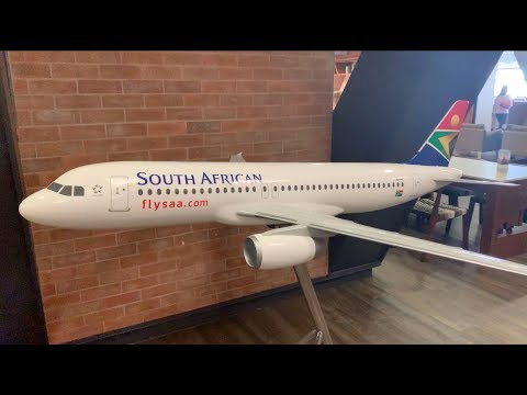Von Stuttgart nach East London / Lufthansa & South African Airways Business Class