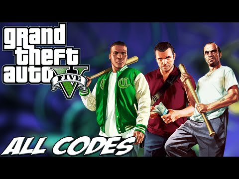 GTA V - ALL CHEATS + Demonstration [PC/PS3/Xbox360/PS4/XboxOne]