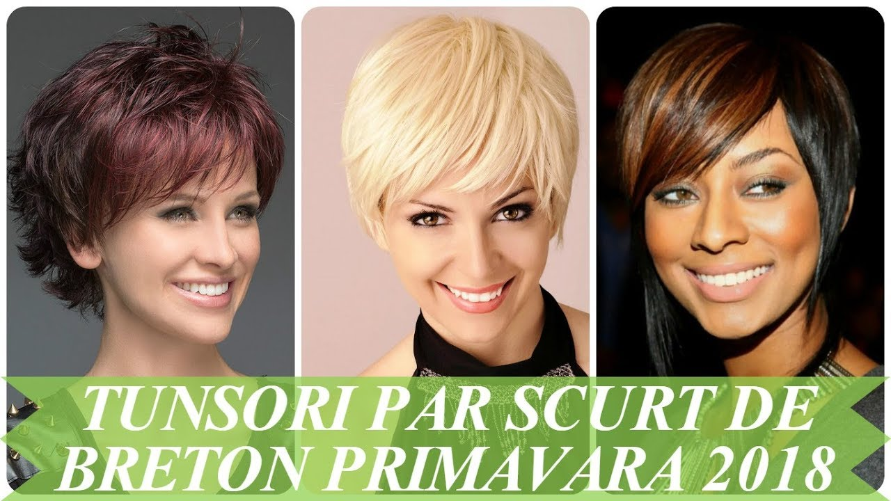 Tunsori Moderne Par Scurt De Breton Primavara 2018