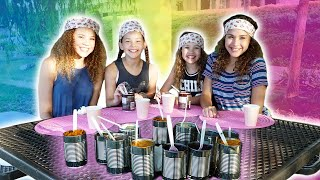 GROSS Canned Food Challenge!  (Haschak Sisters) thumbnail