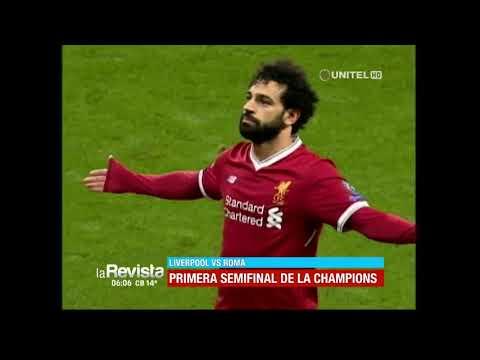 Hoy se juega la primera semifinal de la Champions entre Liverpool y Roma