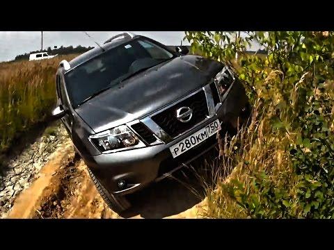 Лучше Дастера? Тест драйв Ниссан Террано 2014-2015 Nissan Terrano