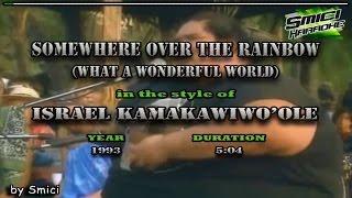 Download lagu Israel Kamakawiwo'ole  - Somewhere Over The Rainbow/Wonderful World KARAOKE