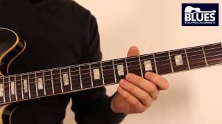 Blues Guitar Lesson 2 - Minor Pentatonic Soloing with Chord Tones