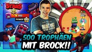 500 TROPHÄEN MIT BROCK! | BESTES FERNKAMPF DUO FÜR SHOWDOWN?! | Brawl Stars Deutsch