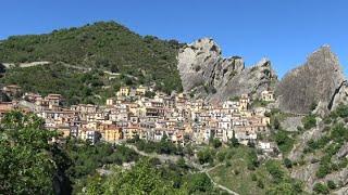 """Potenza. """"castelmezzano"""". Italy In 4k"""