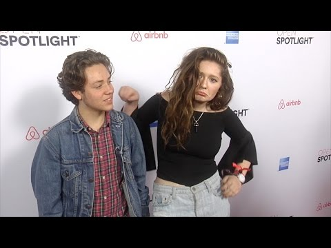 "Ethan Cutkosky & Emma Kenney 3rd Annual ""Airbnb Open Spotlight"" Red Carpet"