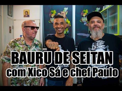Bauru de seitan com Xico Sá e chef Paulo | Panelaço do João Gordo