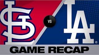 Bellinger, Pederson homer in Dodgers' 8-0 win | Cardinals-Dodgers Game Highlights 8/5/19