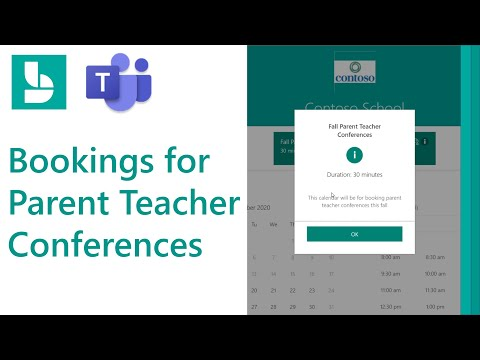 How to use Microsoft Bookings for Parent Teacher conferences