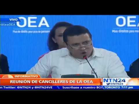 OEA sigue sin lograr acuerdo sobre resolución de la situación en Venezuela 3