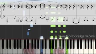 Corcovado (Quiet nights of quiet stars) - Piano cover, Tutorial, PDF