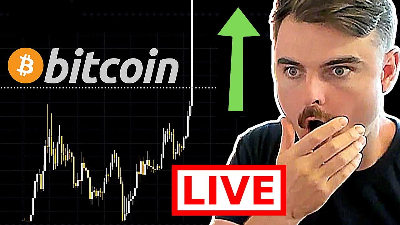 WATCH BITCOIN RIGHT NOW!!!!!