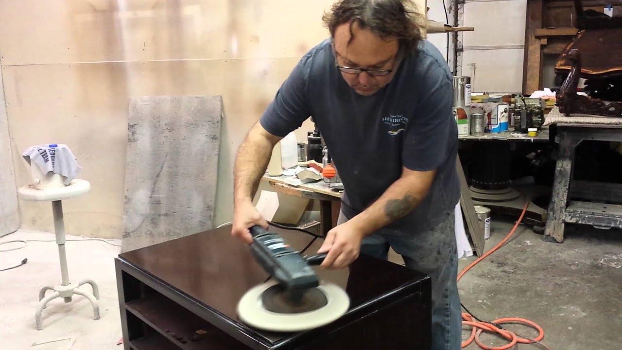 Hand Rubbing Baker Furniture Youtube