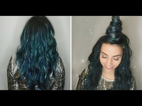 Glitterage is the new hair trend you'll be seeing everywhere this festival
