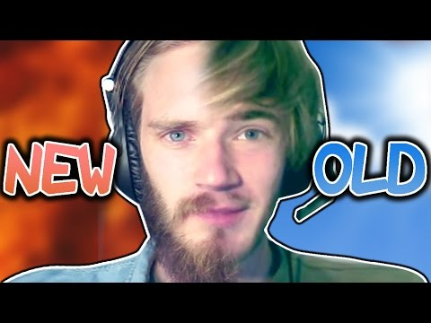 OLD VS. NEW PEWDIEPIE!