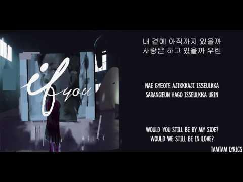 If You - Ailee Lyrics [Han,Rom,Eng]