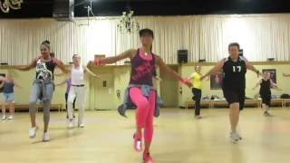 CAN'T STOP THE FEELING ZUMBA FITNESS WITH ANA