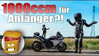 1000 ccm als Anfängerbike? | Dual Motovlog BERLIN | TheToastRiders | Deutsch