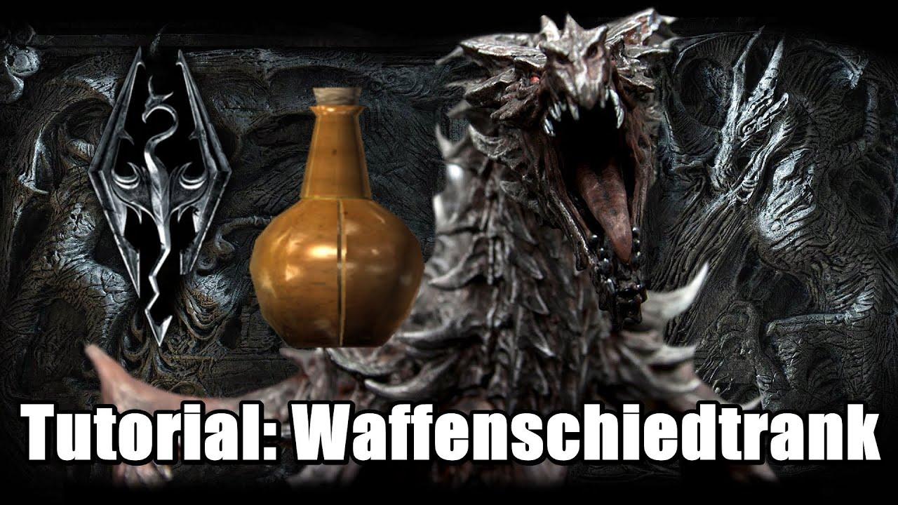 Skyrim | Zaubertrank des Waffenschmieds herstellen [Tutorial/German ...