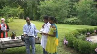 Indian Prayer Song sung by children at Indian Garden in Cleveland