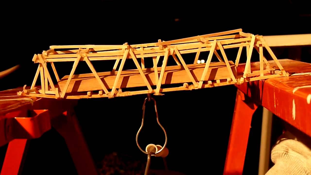How To Build A Balsa Wood Bridge The Best Bridge 2017