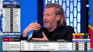 Robbie Savage and Chris Sutton get into a heated argument