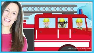 Fire Trucks for Children  |  Fire Truck Song for Kids | Patty Shukla