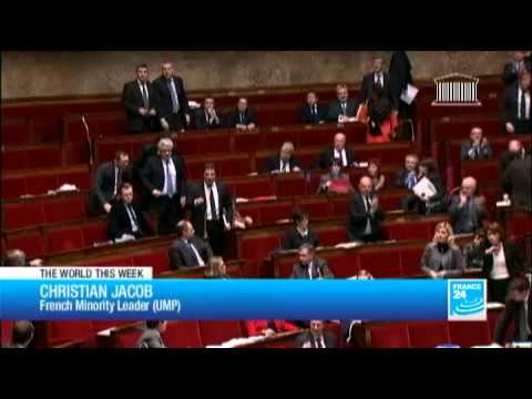 French MPs behaviour during gay marriage debate astounding