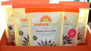 2015 NATUREBOX REVIEW, EAT HEALTHY SNACKS!!!